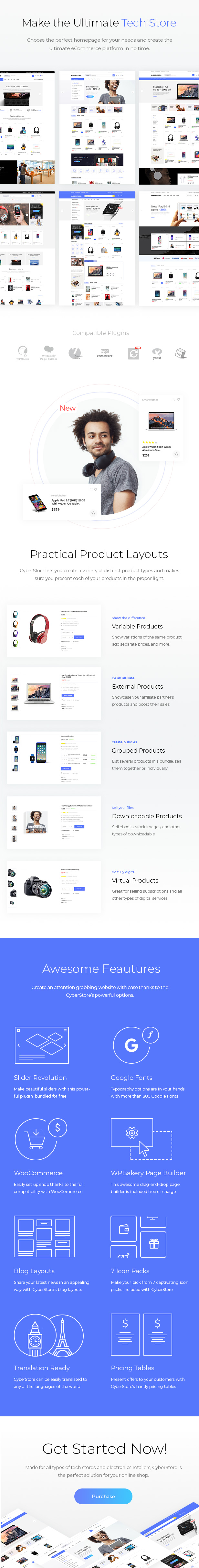 CyberStore - Simple eCommerce Shop - 1